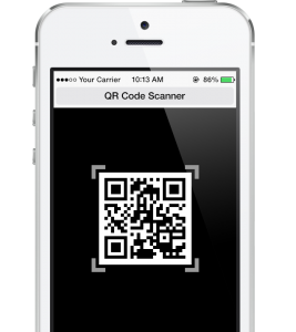 HR Virtuoso Recruiting Strategies Form on Phone - QR Code